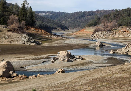 Nevada and California are Now Completely in a Drought in 2021