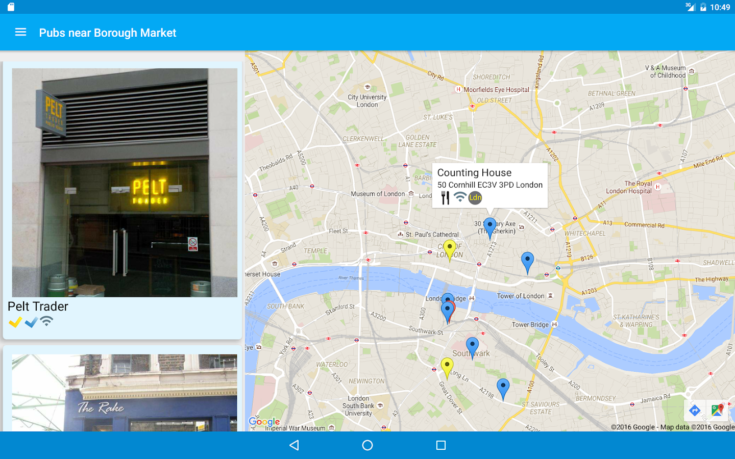 Beer Guide London- screenshot