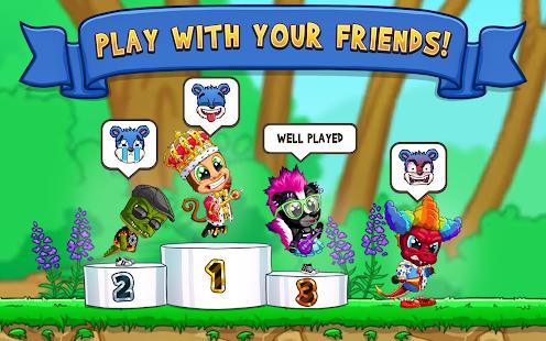 Fun Run 3 - Multiplayer Games poster