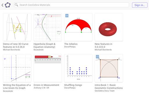 GeoGebra Classic  screenshots 13
