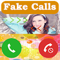 Fake Calls with Fake SMS Prank icon