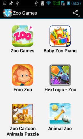 android Top Zoo Games Screenshot 2