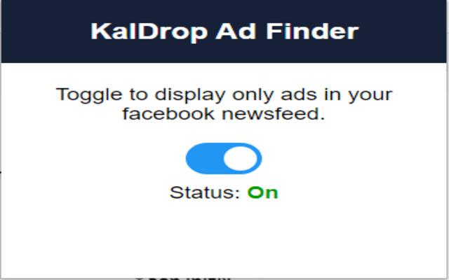 KalDrop Ad Finder