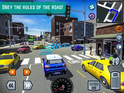 Car Driving School Simulator Screenshot