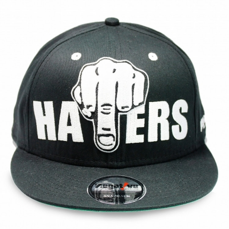 NEGATIVE HATERS SNAPBACK-BL by The Cap City