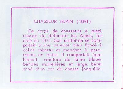 Chasseur alpin (verso)