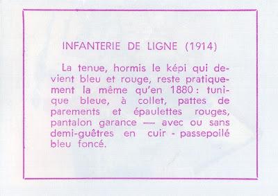 Infanterie (verso)