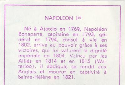 Napoléon (verso)