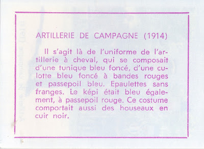 Artillerie de campagne (verso)