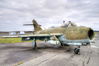 Photo: Radziecki samolot myśliwski MIG-17F