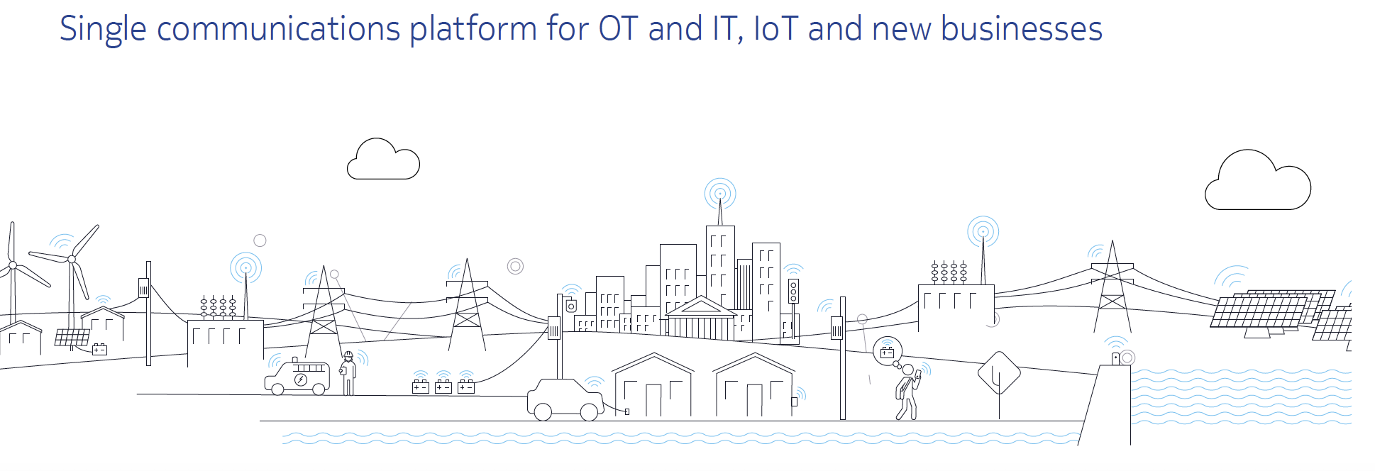 Utilities: Control and optimize smart grids with ultra-reliable pervasive connectivity