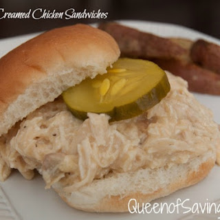 Cream Chicken Sandwiches Recipes