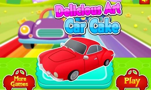 Tải Game Delicious Art Car Cake