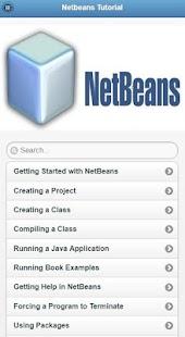 NetBeans Tutorial - náhled