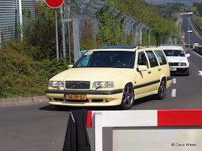 Photo: Ein Power Familien Volvo, zum Glück ohne Wohnwagen :-)