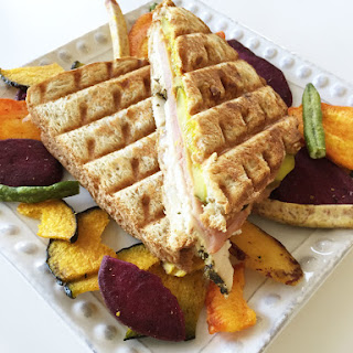 Healthified Turkey Cuban Sandwich