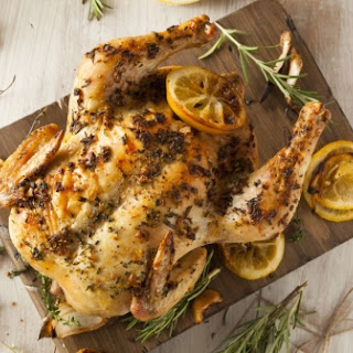 Roast Chicken with Gremolata.