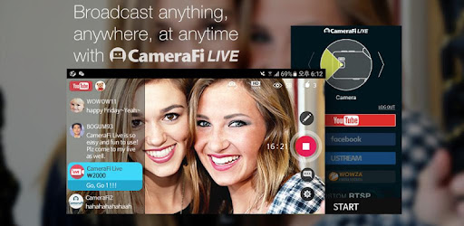 CameraFi Live - YouTube, Facebook, Twitch and Game - Apps on Google Play