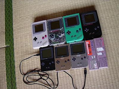 Game Boy, Game Boy pocket, Game Boy Light