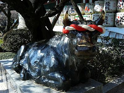 buey toro vaca 牛 cow Dazaifu Tenmangu 太宰府 天満宮
