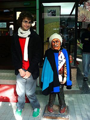 abuelo おじいさん granpa old man statue mannequin マネキン figura maniquí