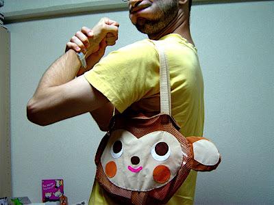 bolso bolsa 鞄 かばん bag mono mona monkey サル 猿