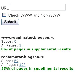 Supplemental Pages Check Tool