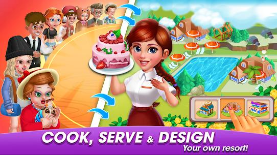 Cooking World: Cook,Serve & Design Your Resort! 2
