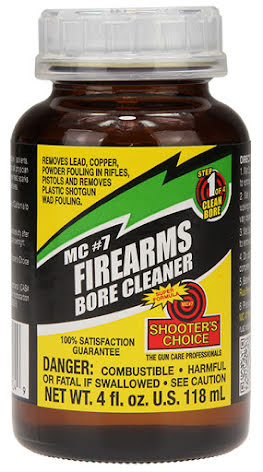 Shooters Choice MC-7 solvent (118ml)