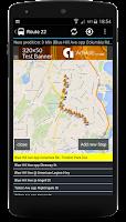 Screenshot of MBTA Boston: Live bus times