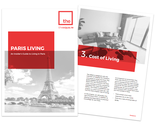 Paris relocation services: cost of living