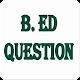 WBUTTEPA BEd Question Papers 2nd Semester APK