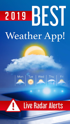 Screenshot for Weather Home - Live Radar Alerts & Widget in United States Play Store