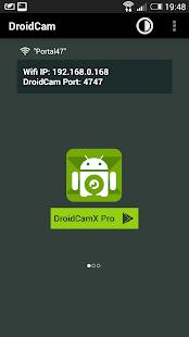 DroidCam Wireless Webcam - screenshot thumbnail