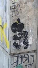 """Photo: Stencil; Unknown Artist:""""Turtle"""""""