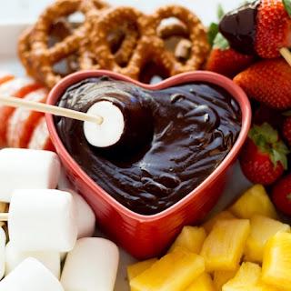 Chocolate Fondue Without Heavy Cream Recipes.