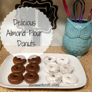 Delicious Easy Almond Flour Donuts! Recipe