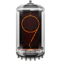 Retro clock. Nixie. Widget icon