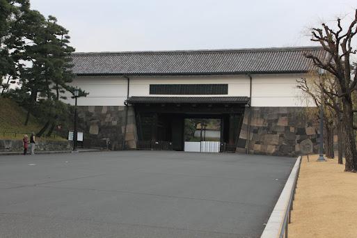 切込接の例 江戸城 桜田門