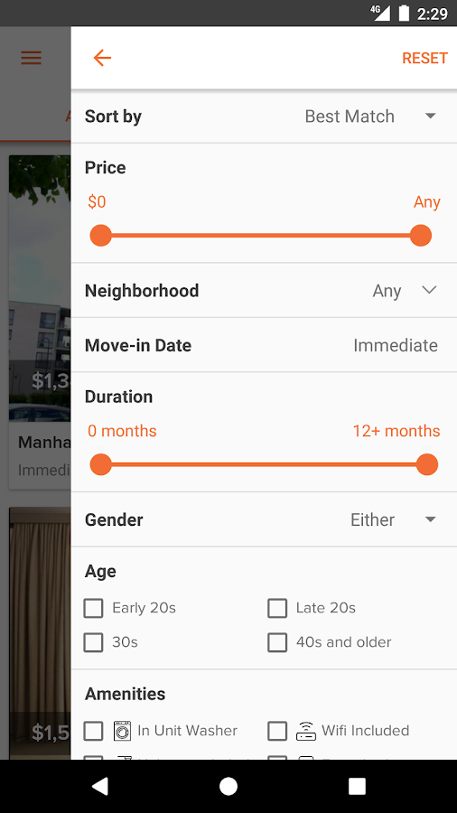 Find Roommates & Rooms for Rent- screenshot