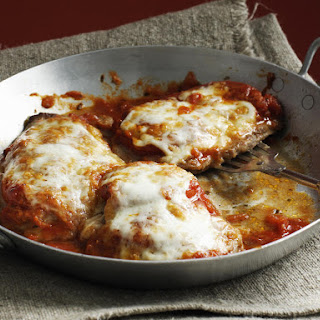 Veal with Tomato and Mozzarella