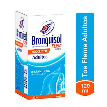 Bronquisol Jarabe Flem   Adulto x 120Ml