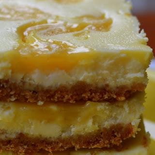 Lemon Curd Cheesecake Bars