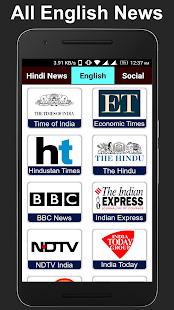 All Hindi, English News and Social Networking Apps - náhled
