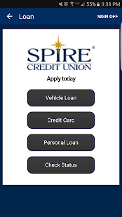SPIRE Credit Union Mobile- screenshot thumbnail