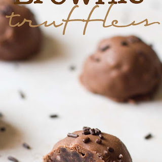 Dangerously Delicious Brownie Truffles