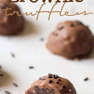 Dangerously Delicious Brownie Truffles.