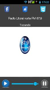 Rádio Litoral Norte FM 87.9 - náhled
