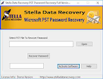 Outlook pst password recovery software
