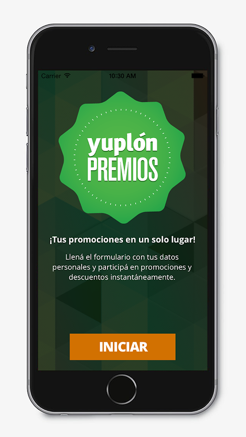 Yuplón Premios- screenshot